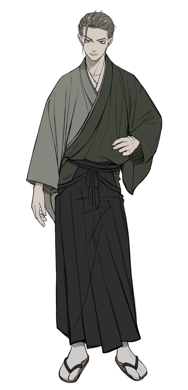 谷幸四郎(CV. 黒瀬鷹)設定画